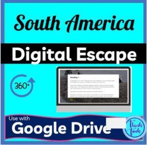 South America Digital Escape Room Picture