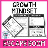 Growth Mindset Escape Room Picture