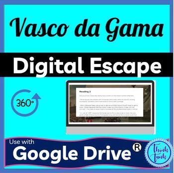 Vasco De Gama Digital Escape Room Picture