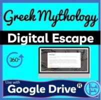 Greek Mythology DIGITAL ESCAPE ROOM picture