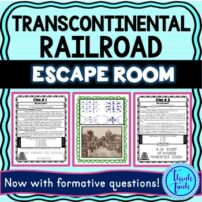 Transcontinental Railroad ESCAPE ROOM picture