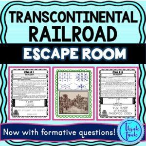 Transcontinental Railroad ESCAPE ROOM picture