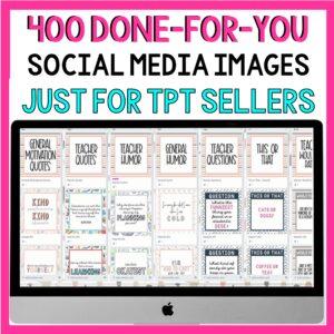 Social Media for TPT sellers