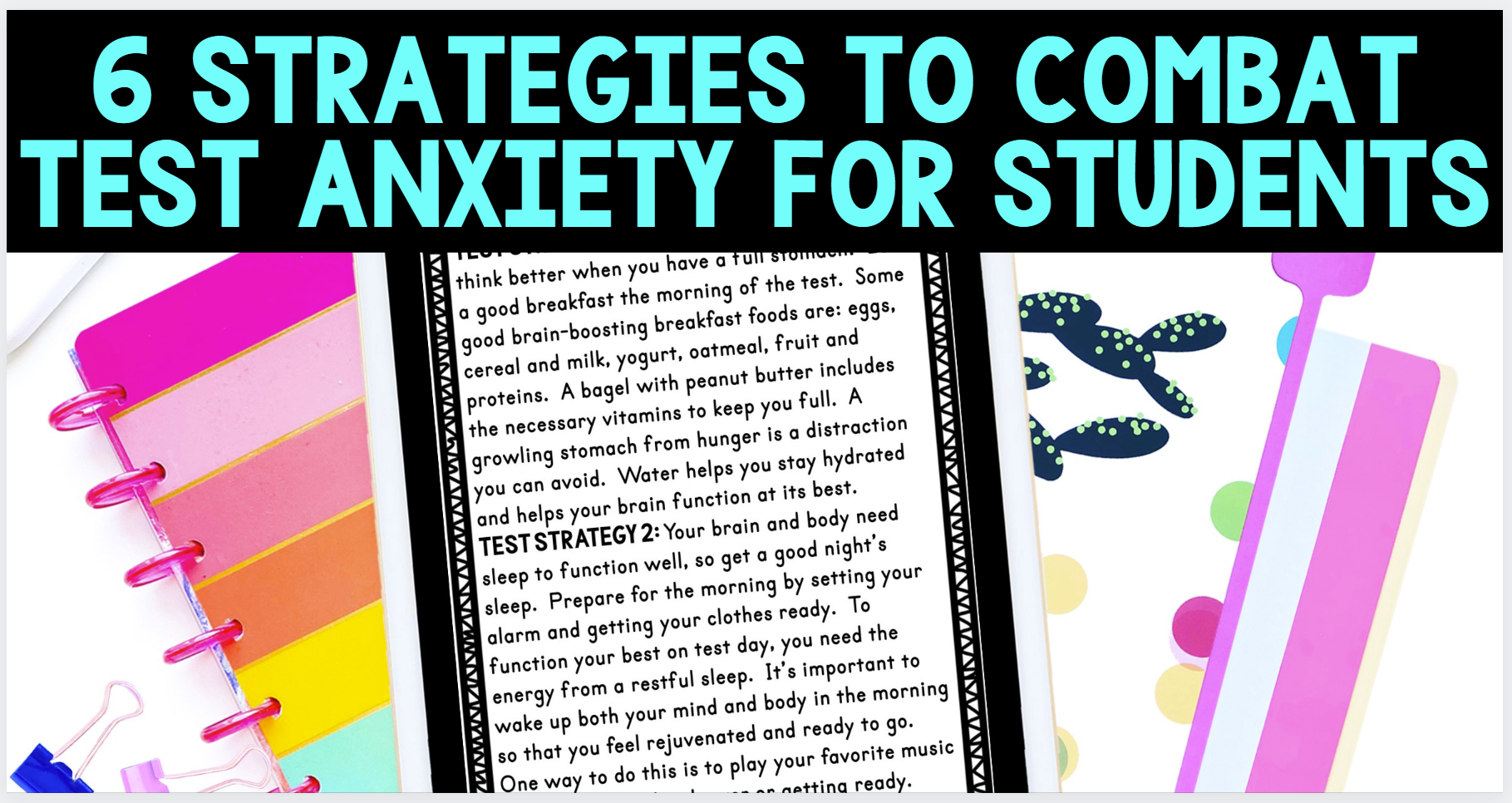 combat test anxiety blog cover