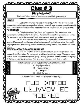 Hammurabis code product image