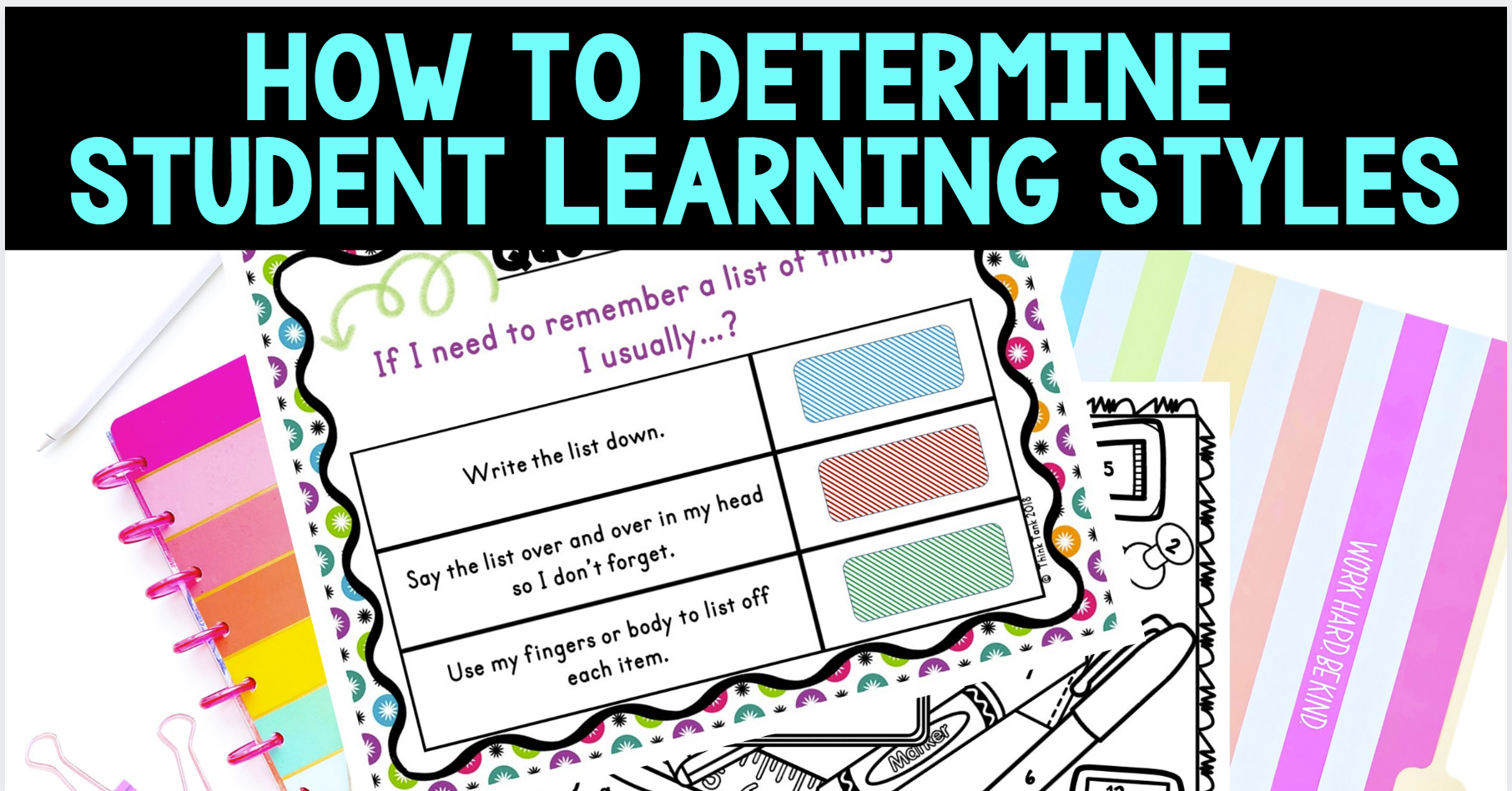 Learning Styles blog cover