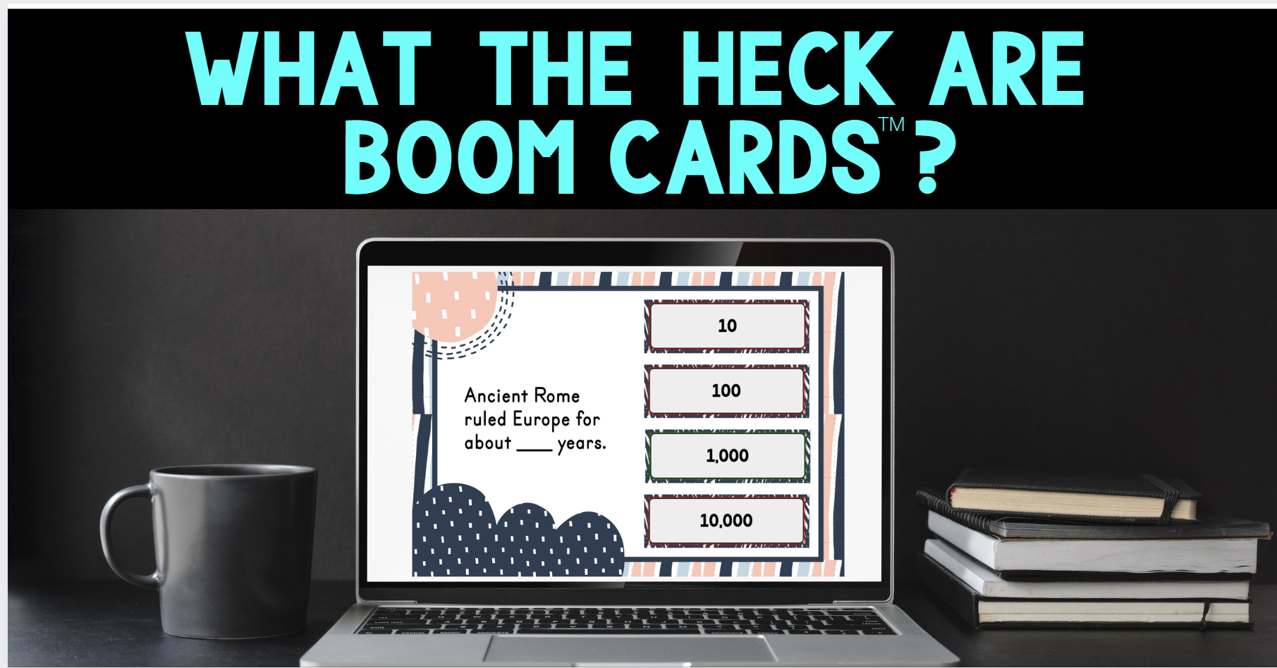 Boom Cards Blog cover