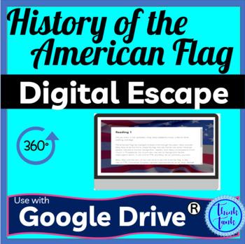 American Flag Digital Escape Room pic