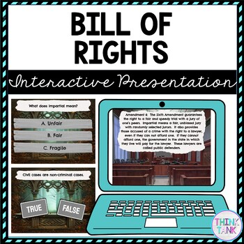 Bill of Rights Interactive Google Slides picture