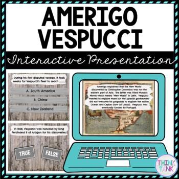 Amerigo Vespucci Interactive Google Slides™ Presentation | Distance Learning