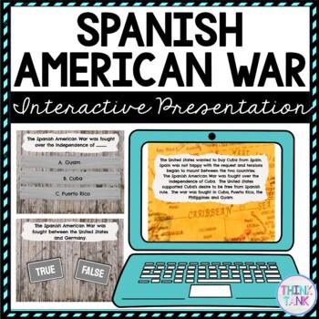 Spanish American War Interactive Google Slides™ Presentation