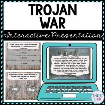 Trojan War Interactive Google Slides™ Presentation | Distance Learning