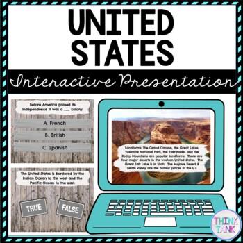 United States Interactive Google Slides™ Presentation | Distance Learning