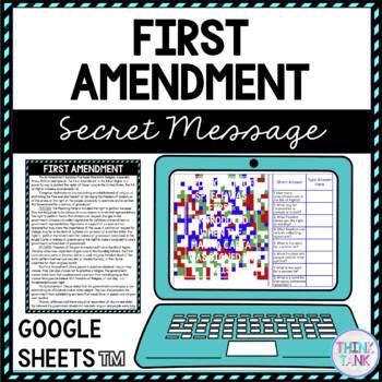 First Amendment Lesson Plan Picture