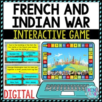 French and Indian War Learning Activity