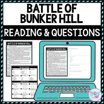 Bunker Hill Education Activity