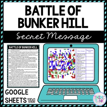 Battle of Bunker Hill Educational Activity