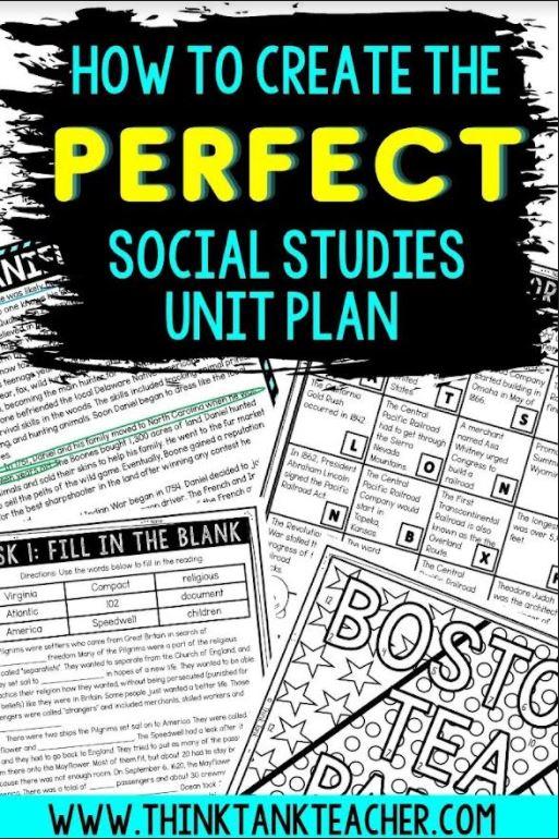 Social Studies blog Pin